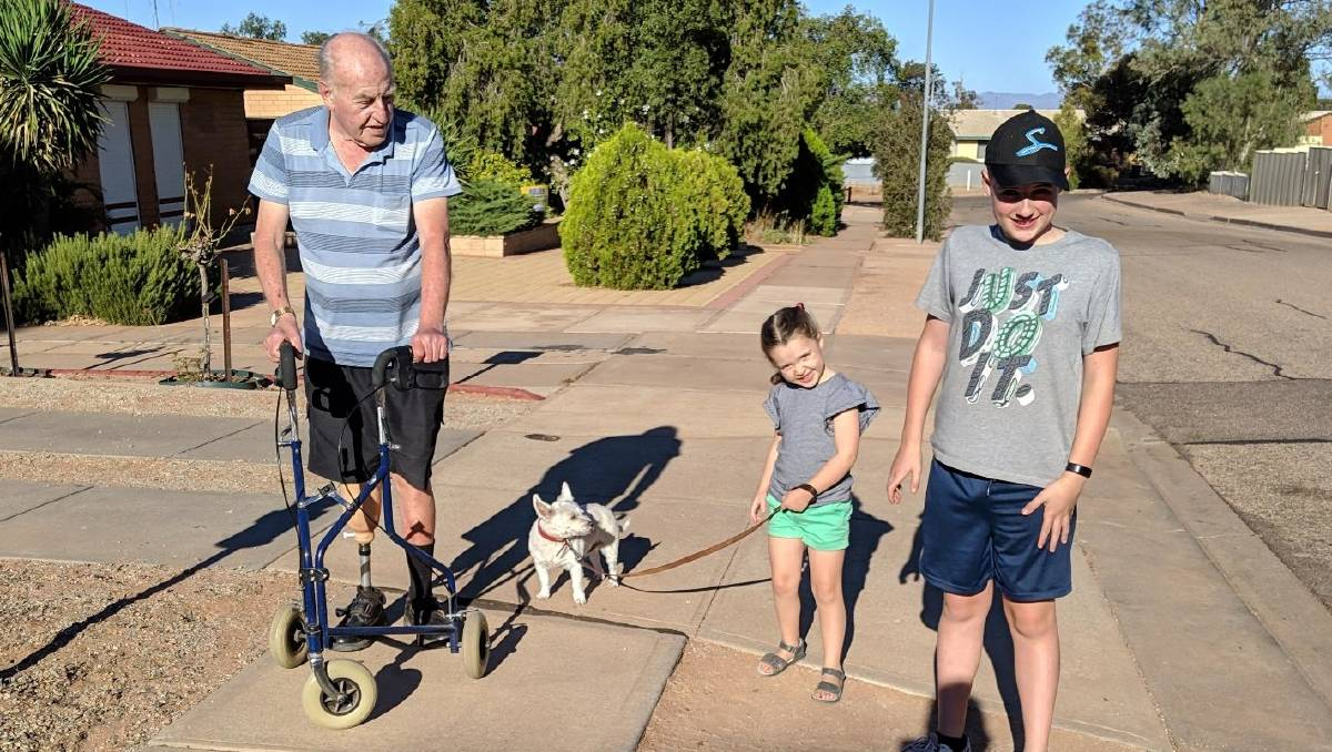 Port Augusta amputee Peter Allen: Limbs 4 Life support ...